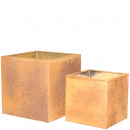 Metal bucket square